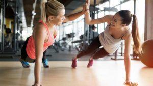Hacer ejercicio con otras personas