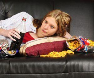 comer frente a la tv