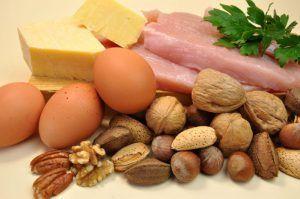 Una dieta cetogénica normal requiere una ingesta moderada de proteínas.