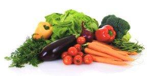 Una dieta baja en grasas se basa en alimentos de origen vegetal