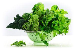 Come verduras bajas en almidón