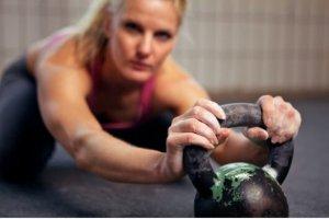Hacer el entrenamiento con pesas