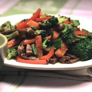 almuerzo 2 ternera con verduras
