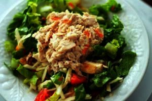 Almuerzo 3 Atún con verduras