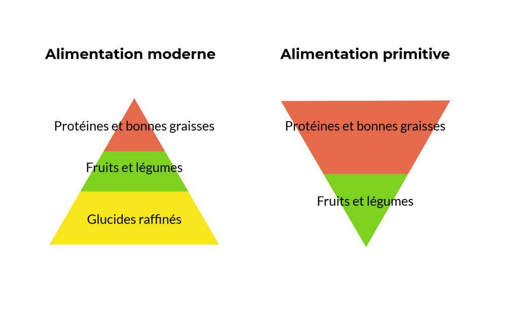 Comida moderna primitiva